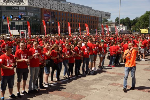 Najwięcej osób otwierających butelki - Rekord Polski 2017
