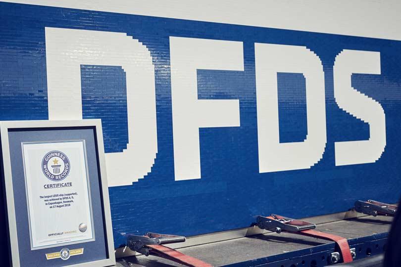 Rekord Guinnessa - DFDS