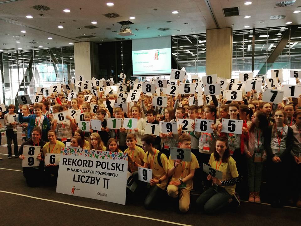 Światowy Dzień Liczby Pi - Rekord Polski
