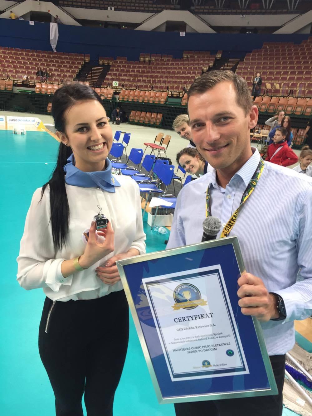 Rekord Polski - Sędzia - Certyfikat