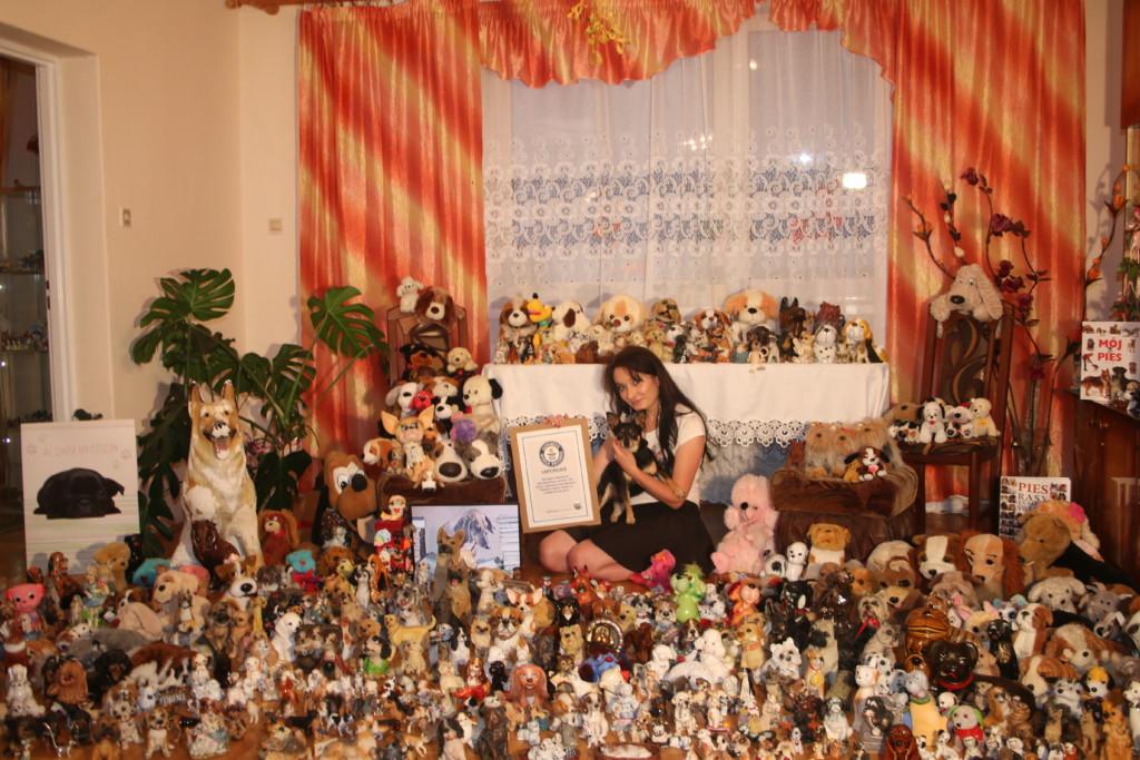Anna Matracka - Największa kolekcja przedmiotów z psami