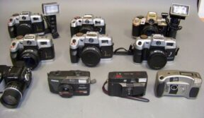 Największa kolekcja aparatów fotograficznych - Biskupiec