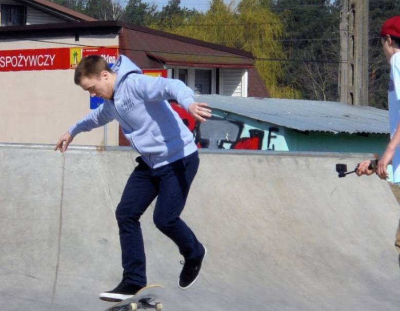 Adam Żaczek - backside shuvit