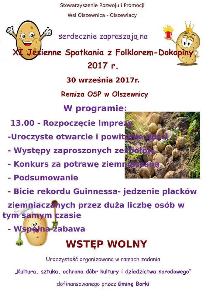 Spotkania z folklorem - plakat