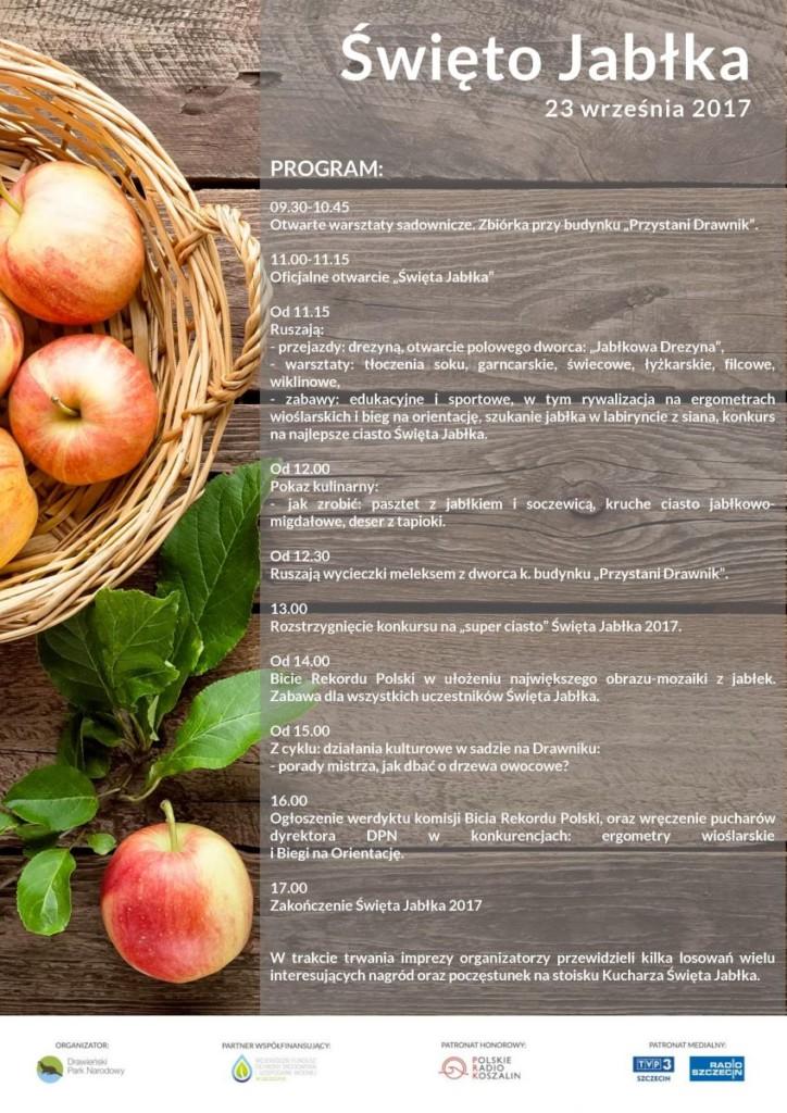 Święto Jabłka 2017 - plakat