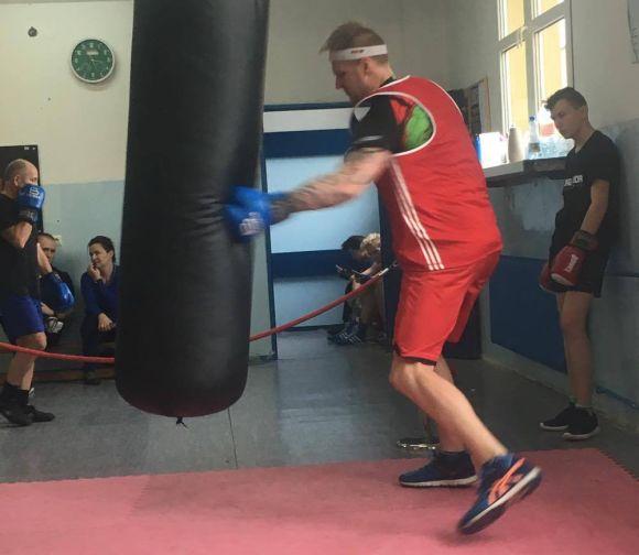 Uderzanie wworek bokserski - Wodzisław Śląski