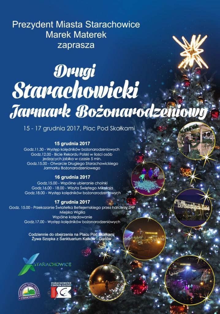 Jarmark Starachowice - plakat