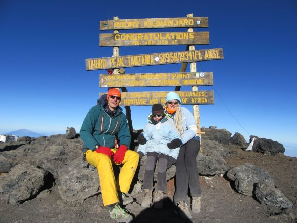 Kilimandżaro - Rekord Polski