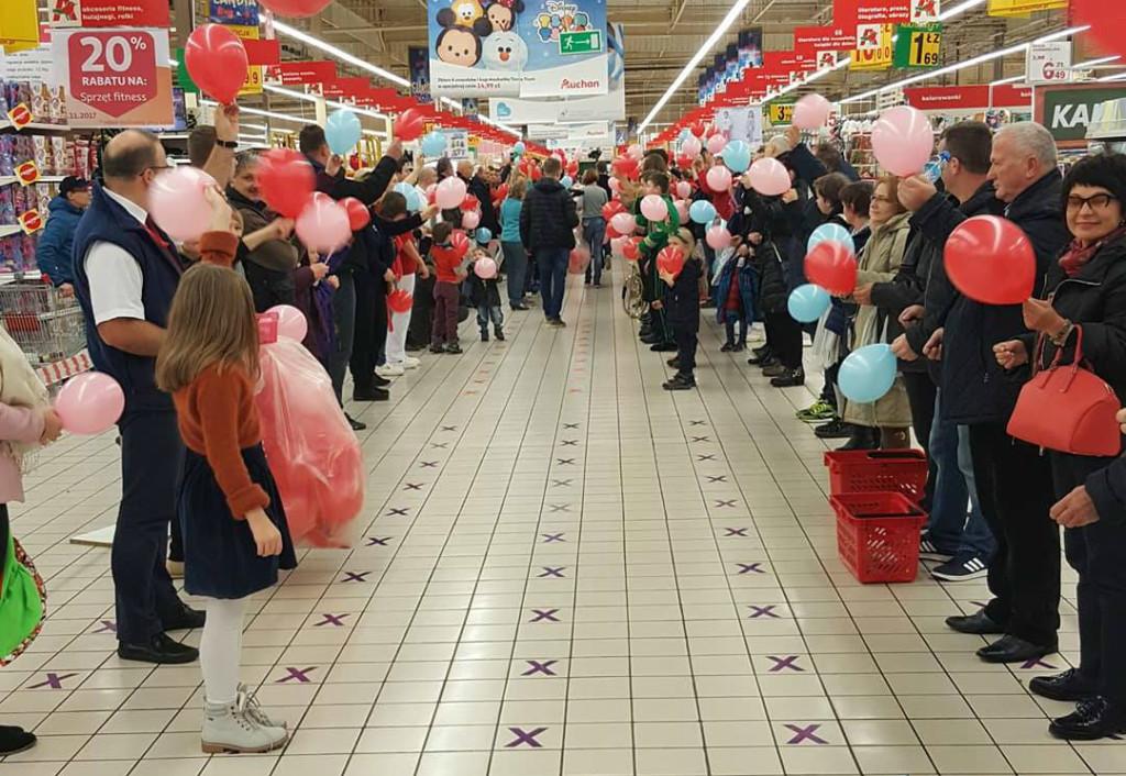 Przekłuwanie balonów - rekord Białystok