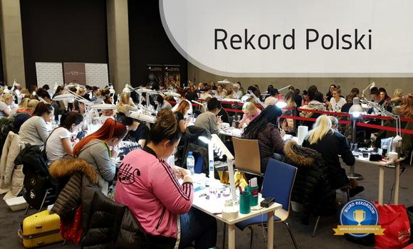 Rekord Polski - stylizacja paznokci