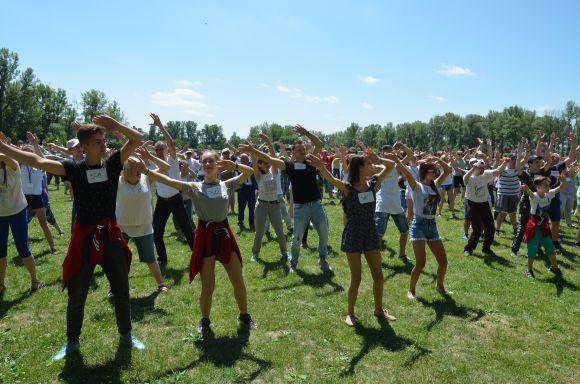 Rekord Guinnessa wnajwiększej lekcji tańca samby