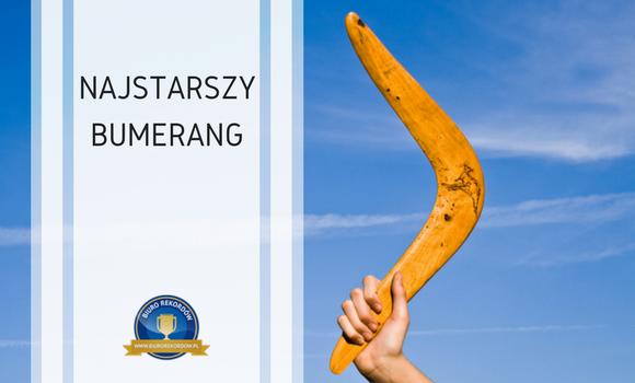 Najstarszy bumerang