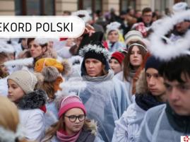 Rekord Polski - najwięcej osób przebranych za anioły