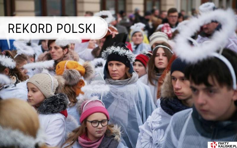 Rekord Polski - najwięcej osób przebranych zaanioły