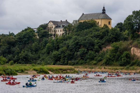 Największy spływ kajakowy - Rekord Polski
