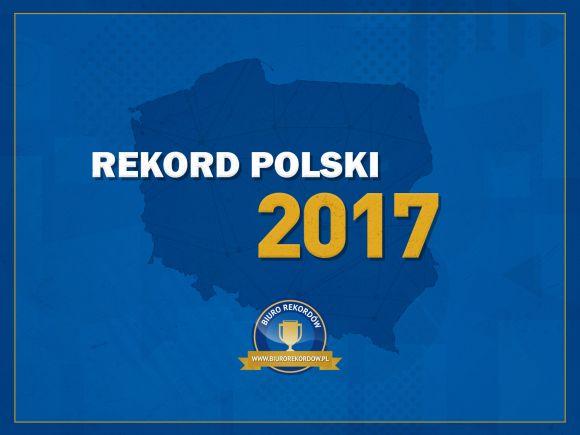 Przybijanie piątki - Rekord Polski