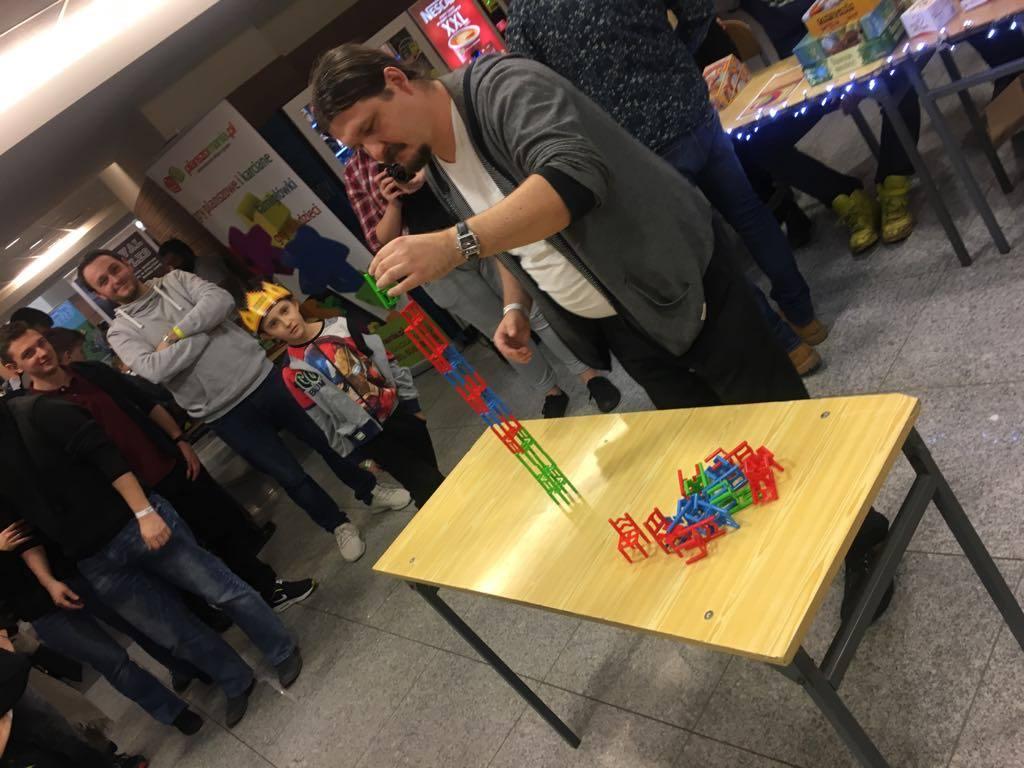 Największa konstrukcja zelementów gry Mistakos