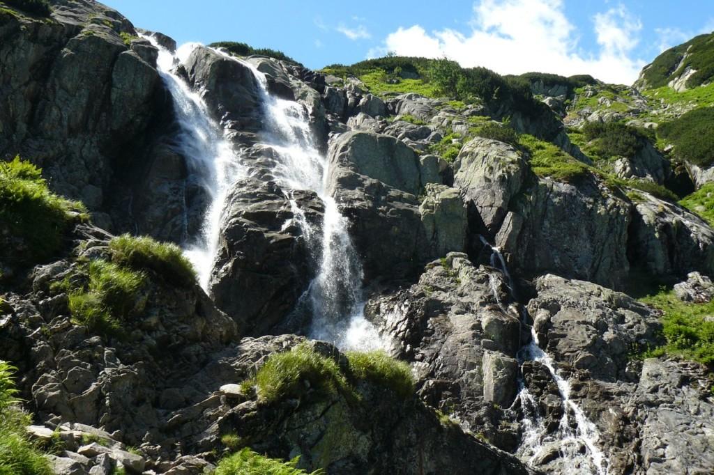 Największy wodospad wPolsce