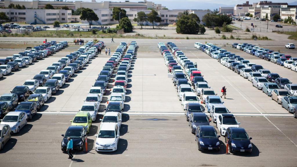 Toyota Prius - parada