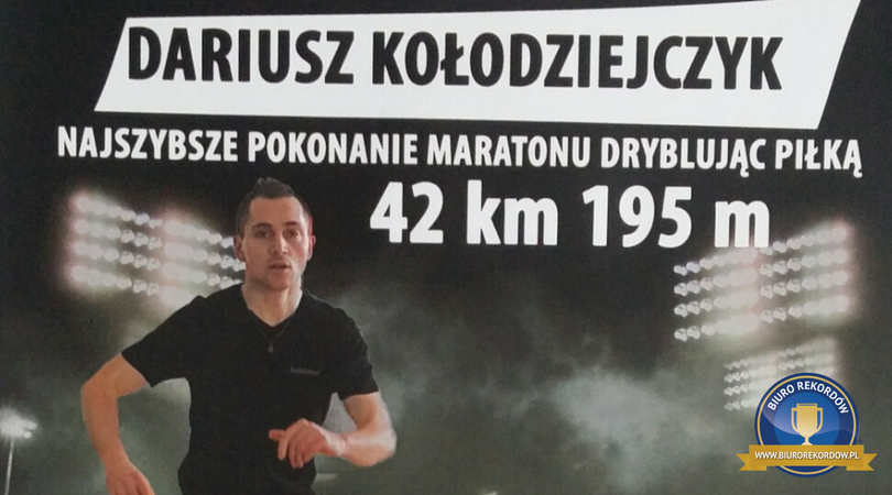 Maraton dryblowania
