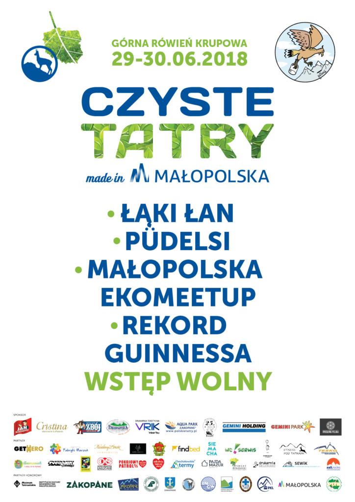 Czyste Tatry - plakat