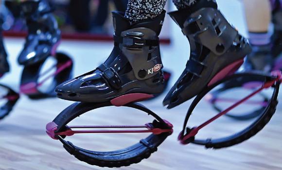 Skaczące buty