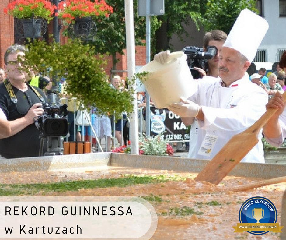 Największa porcja jajecznicy - Rekord Guinnessa