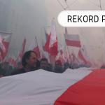 Rekord Polski - najdłuższa flaga