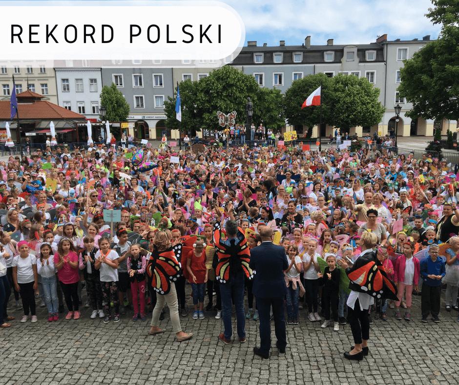 Najwięcej osób przebranych zamotyle - Rekord Polski