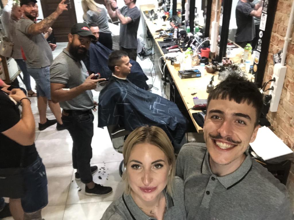 Rekord Polski wstrzyżeniu włosów
