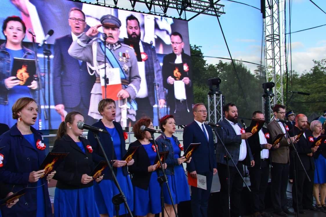 Wielki hymn wStarogardzie