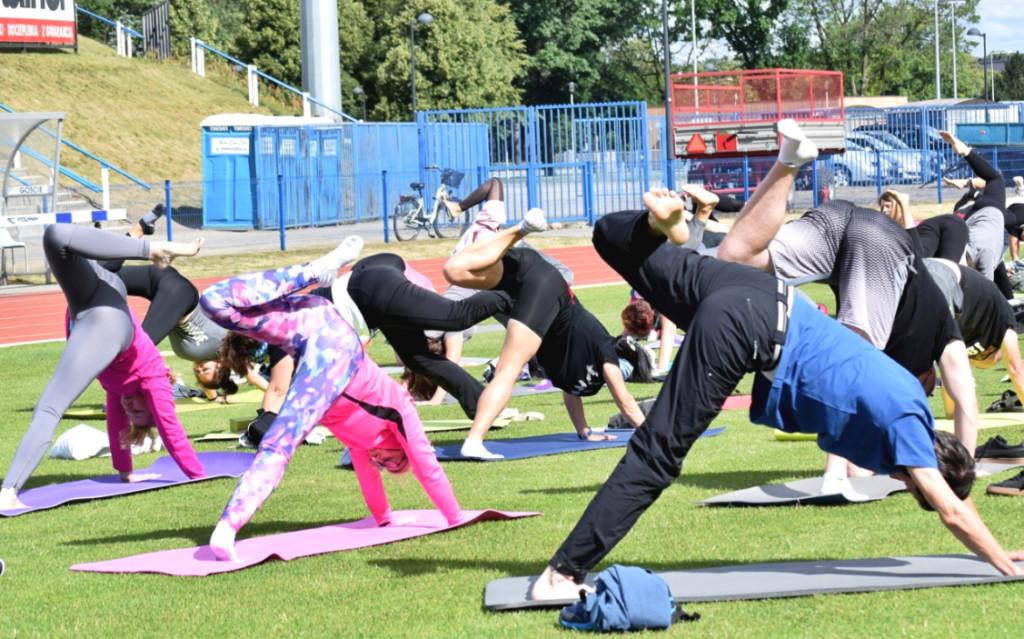 Lekcja jogi - rekord