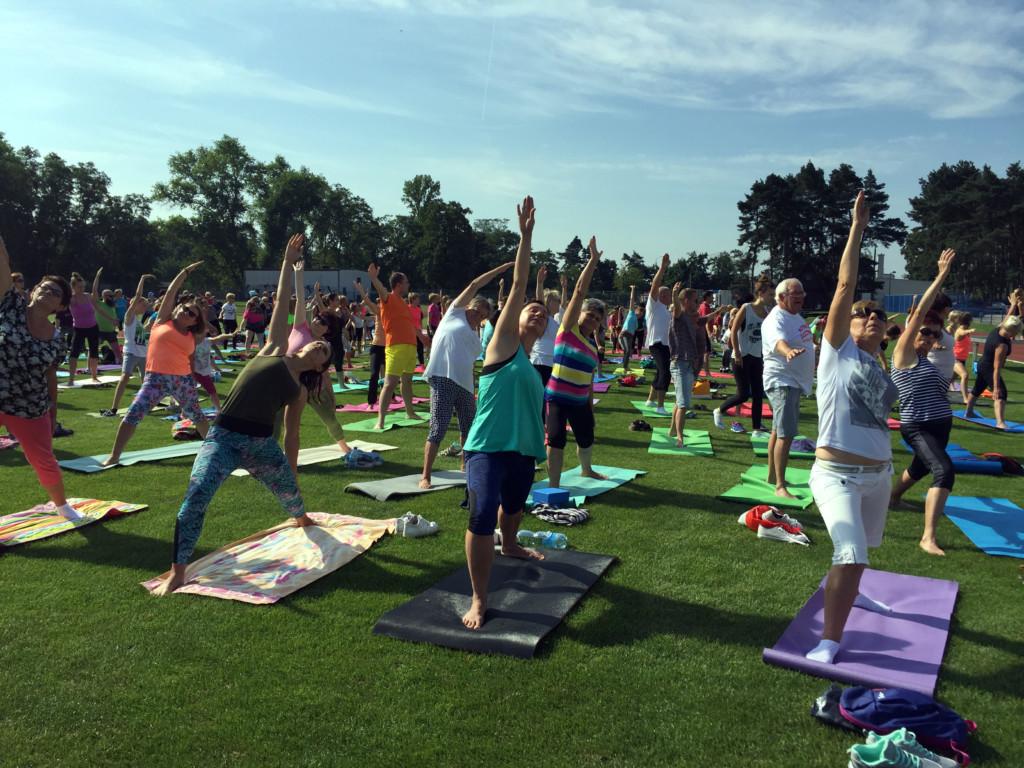 Rekordowe ćwiczenie jogi