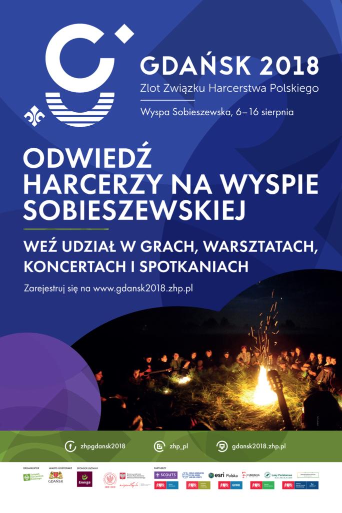 Gdańsk 2018 - harcerze