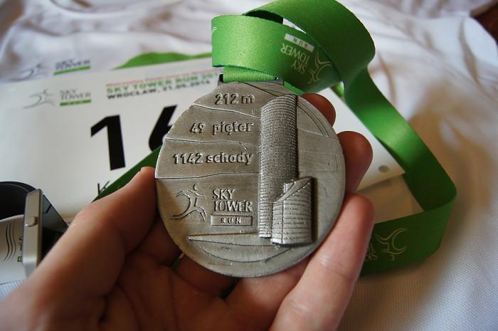 Sky Tower Run - medal