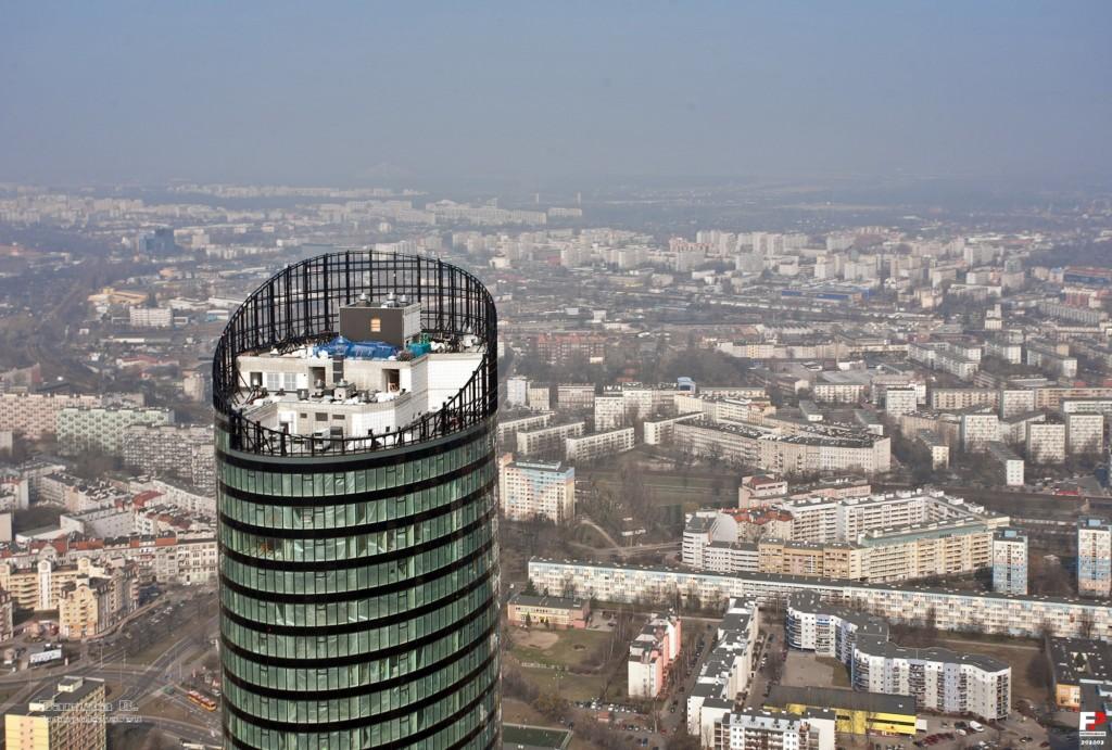 Sky Tower Budowa