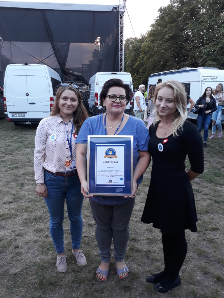 Kokarda Rekord Polski 2018