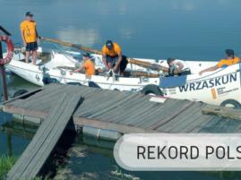 Rejs łodzią otwarto pokładową - 7 dni - Rekord Polski