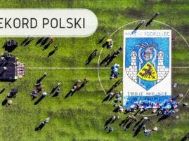 Największy wzór z nakrętek - Rekord Polski
