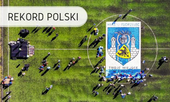 Największy wzór znakrętek - Rekord Polski