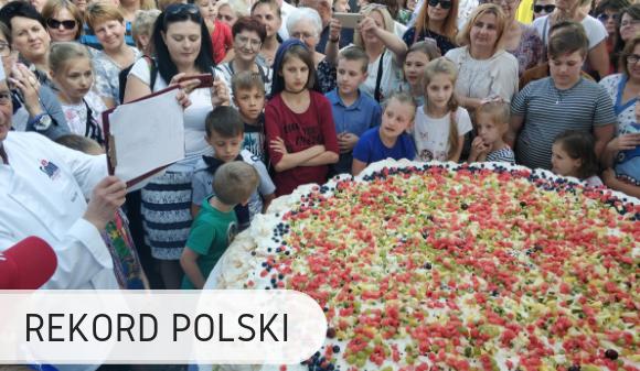 Największa beza - Rekord Polski