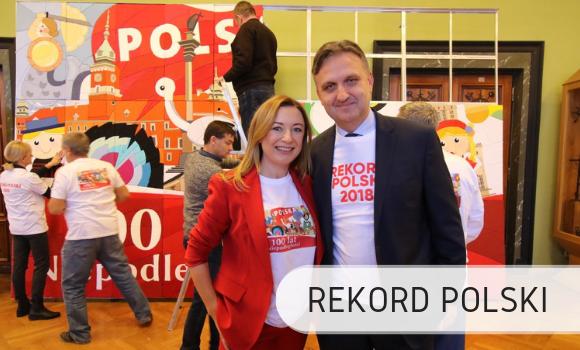 Największa mozaika ztekstyliów - Rekord Polski