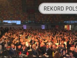 Przybijanie piątek - Rekord Polski