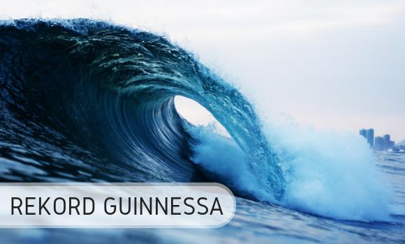 Surfing - Największa fala - Rekord Guinnessa