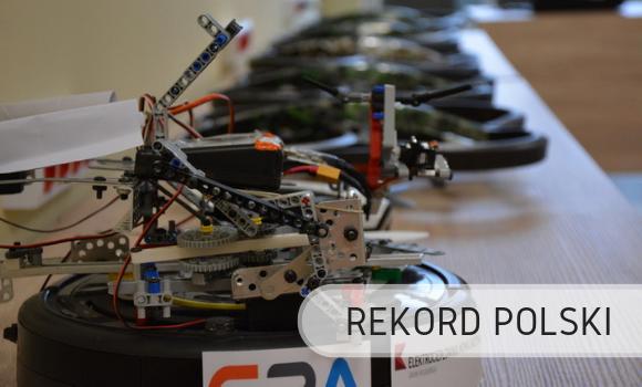 Rekord Polski - roboty