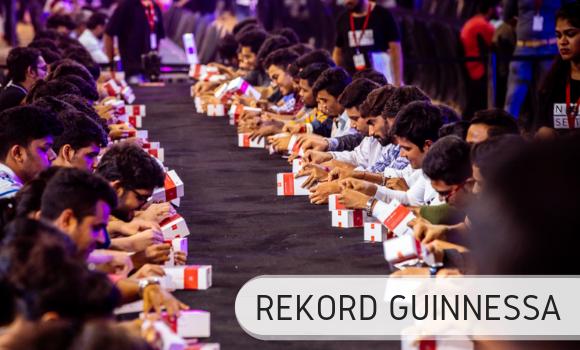 Największy unboxing - Rekord Guinnessa
