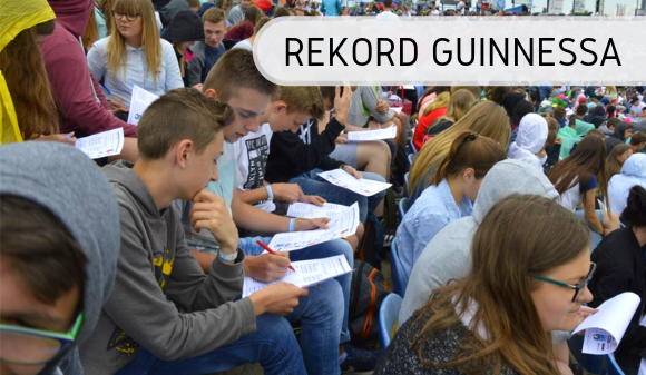 Lekcja matematyki - Rekord Guinnessa