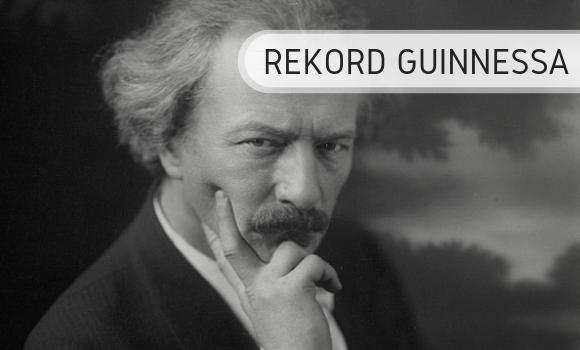 Rekord Guinnessa - Paderewski