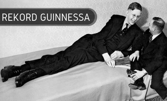 Rekord Guinnessa - najwyższy człowiek