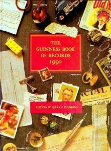 Księga Rekordów Guinnessa 1990